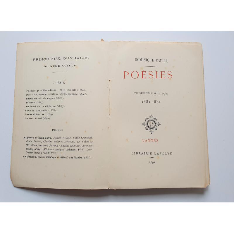 Poesies 1881-1891