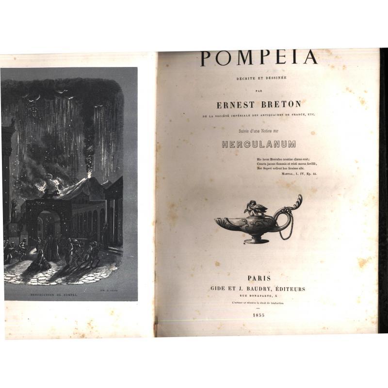 Pompeia decrite et dessinee