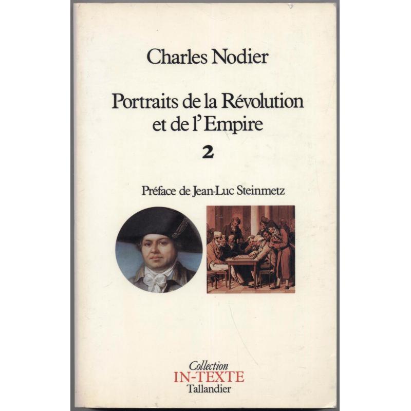 Portraits de la Revolution et de l'Empire tome 2