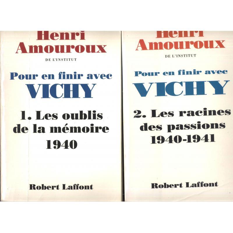 Pour en finir avec Vichy 2 tomes