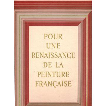 Pour une renaissance de la peinture française + etui