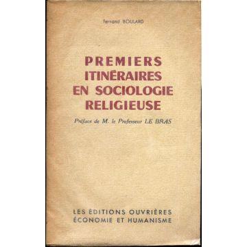 Premiers itinéraires en sociologie religieuse