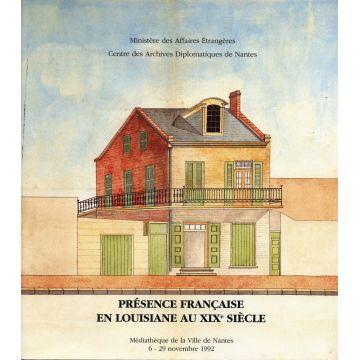 Presence francaise en Louisiane au XIXè siècle