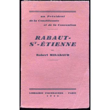 Rabaut-Saint-Etienne, un president de la Constituante et de la Convention