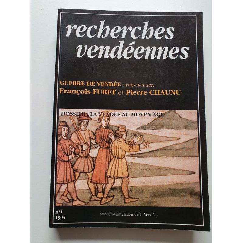 Recherches Vendéennes N° 1