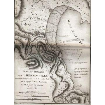 Recueil de cartes geographiques, plans, vues et medailles de l'ancienne Grece