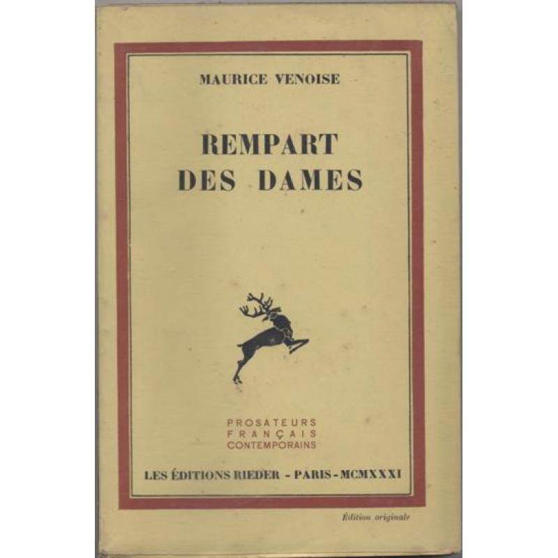 Rempart des Dames (roman)