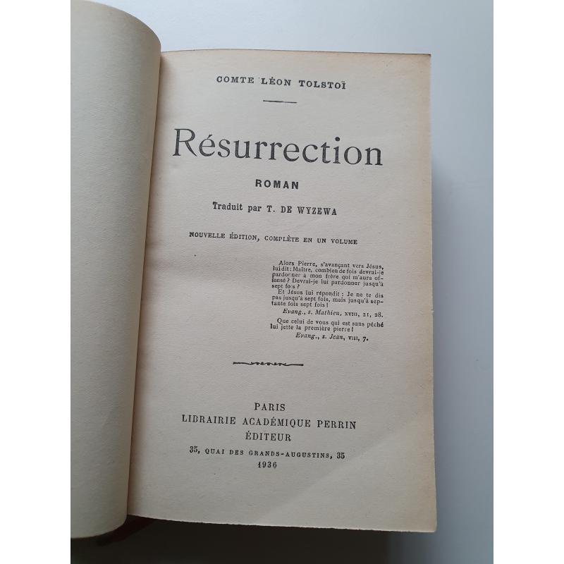 Resurrection de Tolstoi