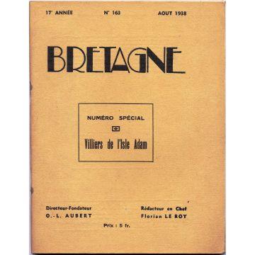 Revue Bretagne n°163. Numéro spécial Villiers de l'Isle Adam