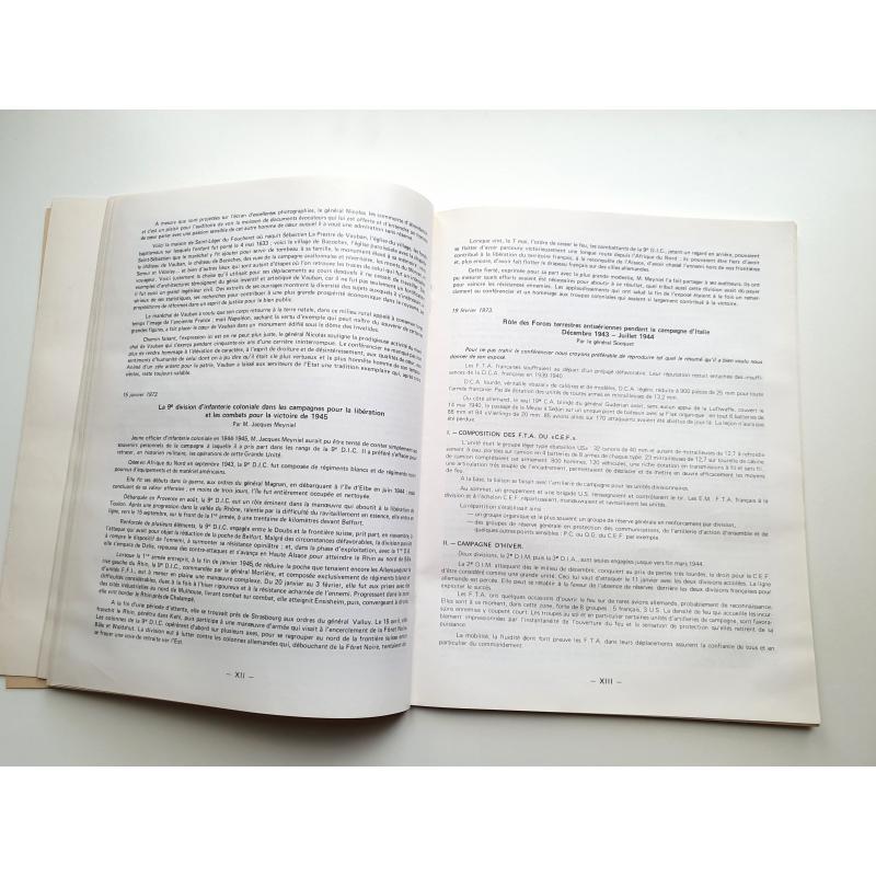 revue de la société des amis du musee de l'armée + 2 additif 1973