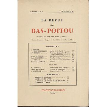 Revue du bas-Poitou n°4 1961
