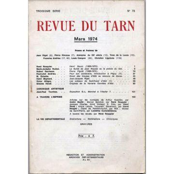 Revue du Tarn N°73