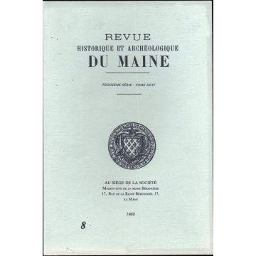 Revue historique et archeologique du Maine 3e serie tome 8