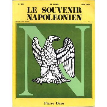 Revue Le Souvenir napoléonien, n°341 a 350 5 numéros seuls