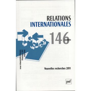 Revue Relations internationales n°146