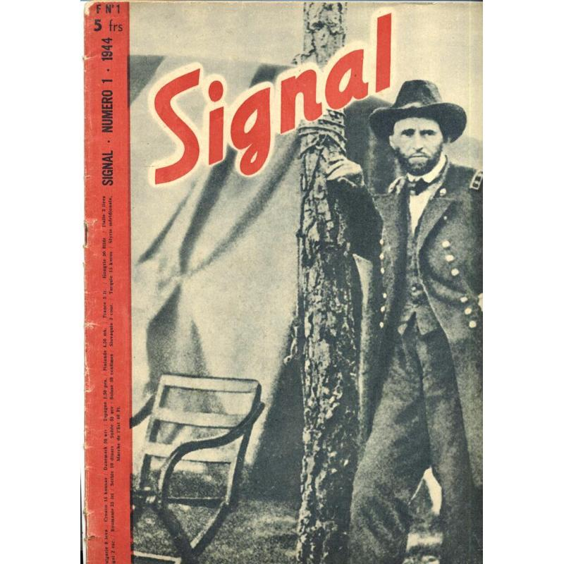 Revue Signal n°1 1944