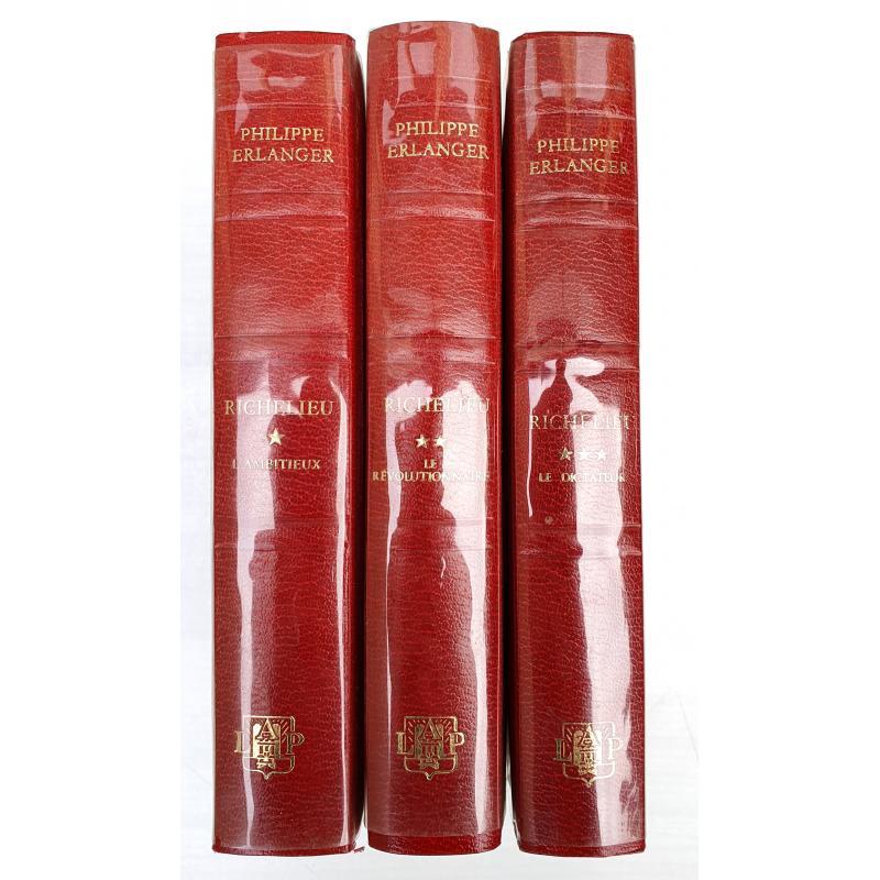 Richelieu en 3 tomes