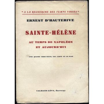 Sainte Hélène au temps de Napoléon et aujourd'hui
