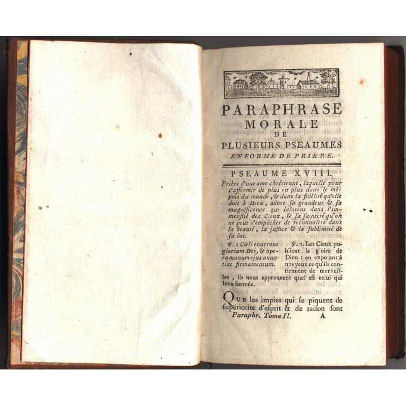 Sermon de Massillon paraphrase de plusieurs pseaumes tome 2