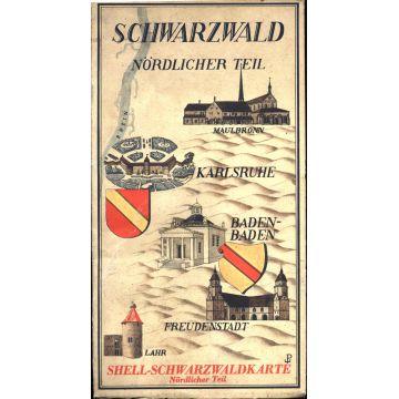 Shell-Schwarzwaldkarte Nordlicher Teil