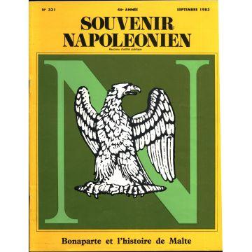 Souvenir napoléonien 10 numéros 331 à 340