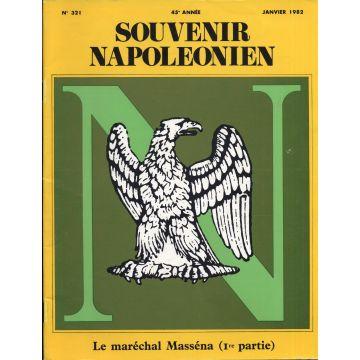 Souvenir Napoléonien n°321 à 330 10 numéros