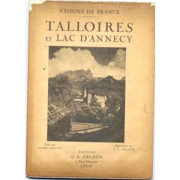 Talloires et le lac d'Annecy