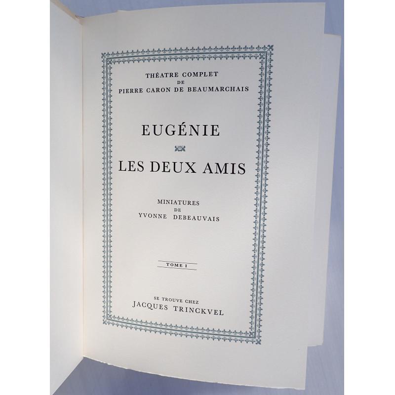 Théâtre complet de Pierre Caron de Beaumarchais