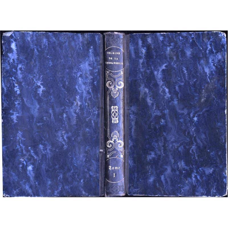 Tome 1 Lettres sur l'origine de la chouannerie et sur les chouans du bas-Maine