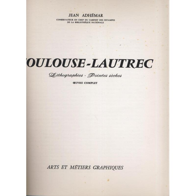 Toulouse - Lautrec lithographies