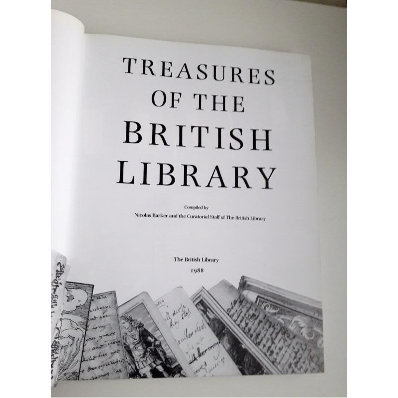 Treasures of the British Library 1988