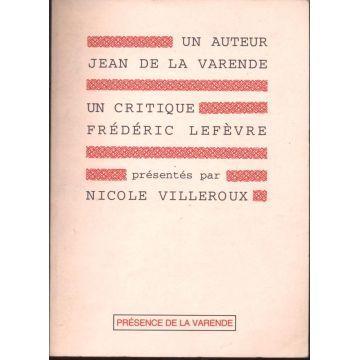 Un auteur Jean de la Varende un critique Frederic Lefèvre