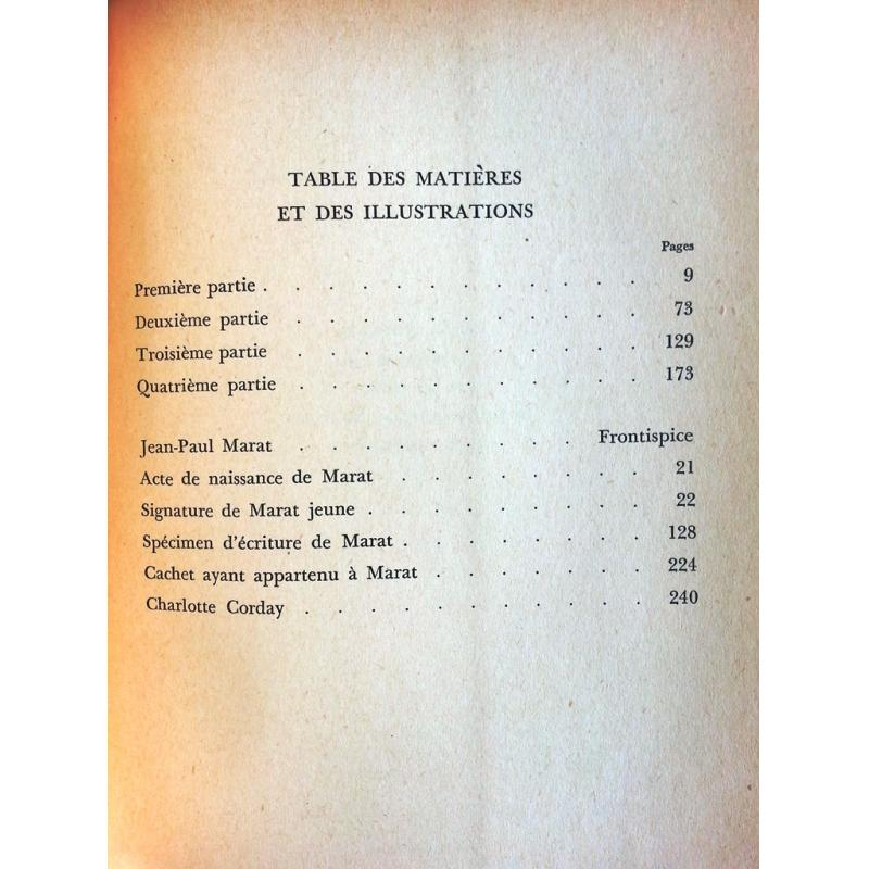Un homme cherche la liberté Jean-Paul Marat