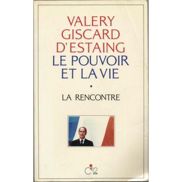 Valery Giscard d'Estaing le pouvoir et la vie 3 tomes