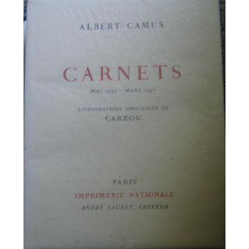 VENDU Carnets 1935-1951