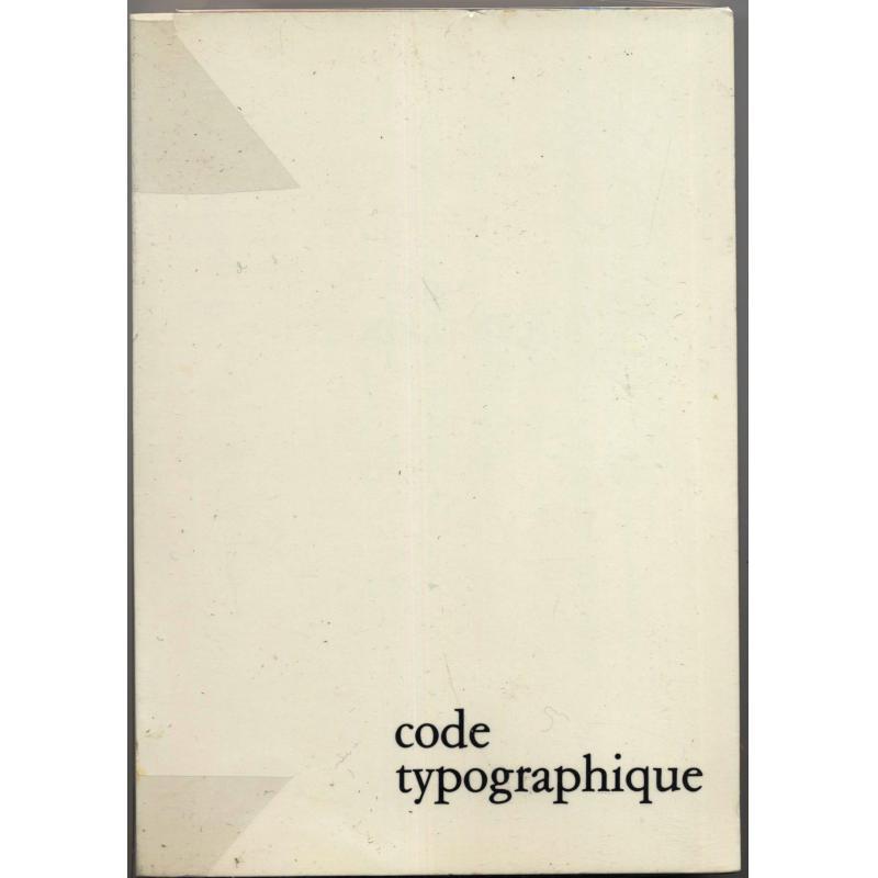 VENDU Code typographique