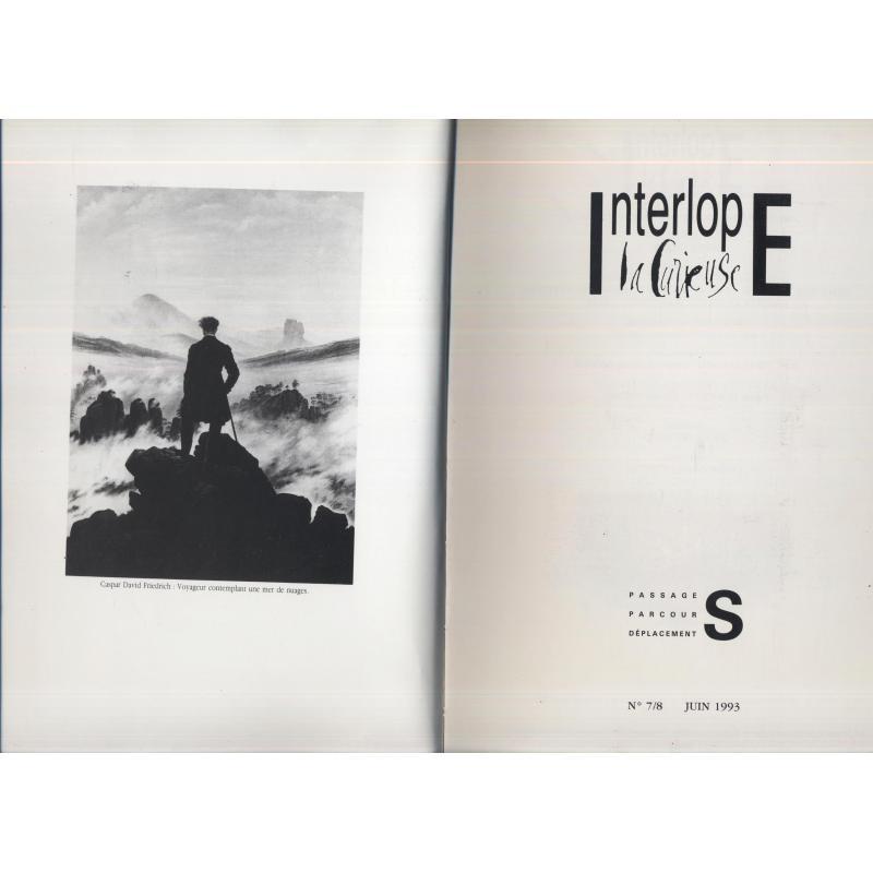VENDU Interlope la curieuse n°7/8