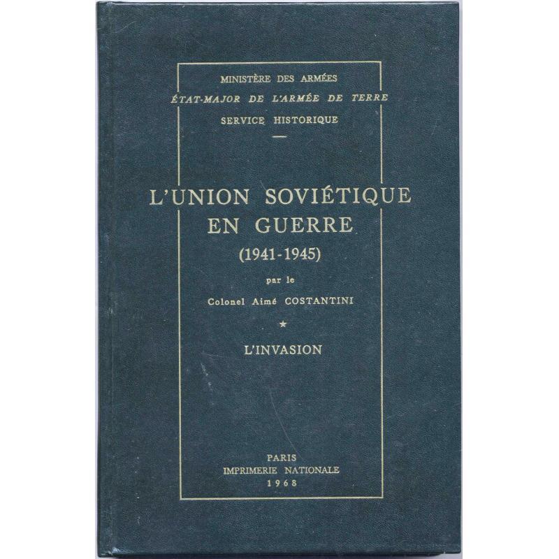 VENDU L'Union Soviétique en guerre 1941-1945 3 tomes