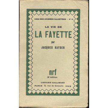 VENDU La vie de La Fayette