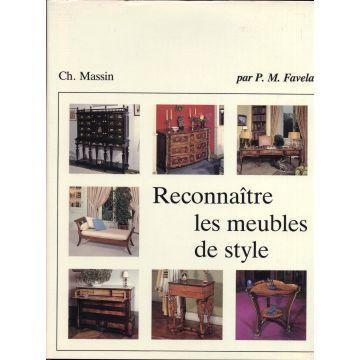 VENDU Reconnaitre les meubles de style