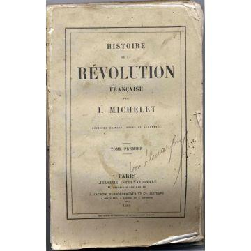 VENDUS Histoire de la revolution française - 6 tomes