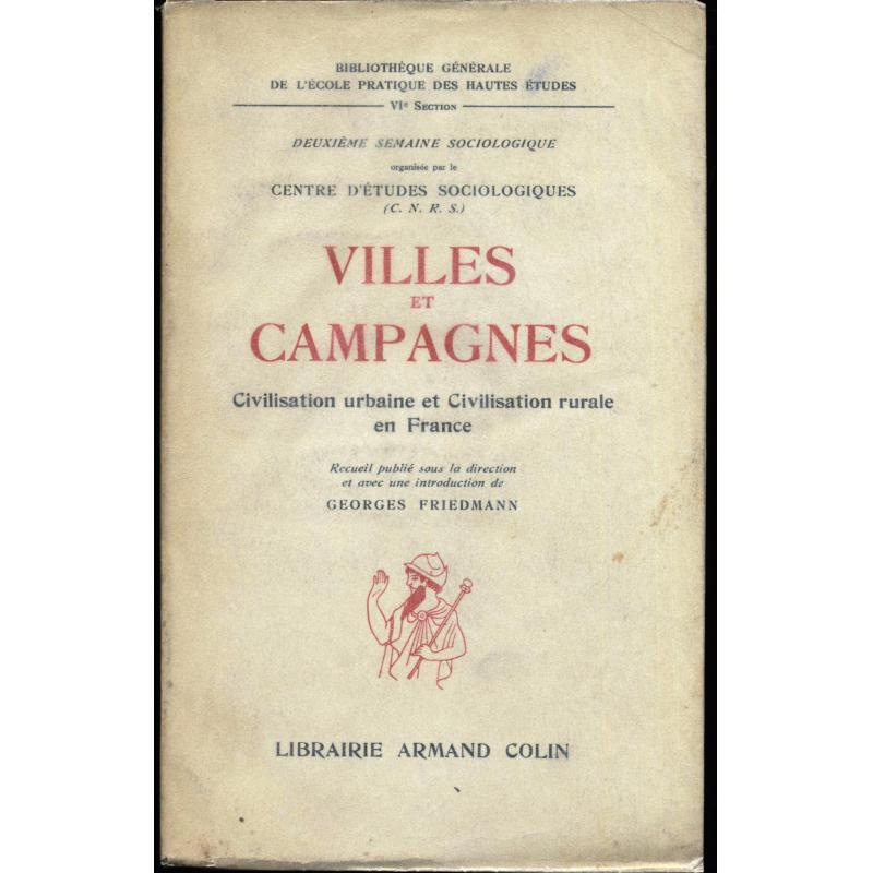 Villes et campagnes