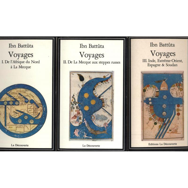 Voyages, 3 tomes