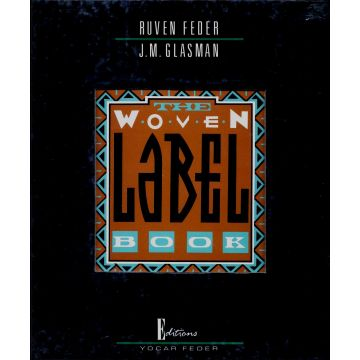 Woven label book